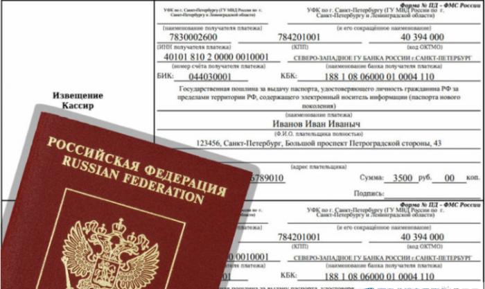 Госпошлина на загранпаспорт нового образца детям до 18 лет