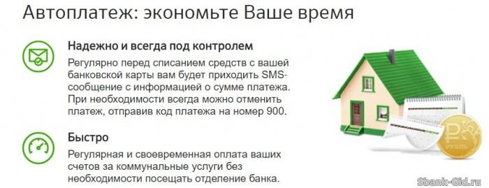 Создание шаблона автоплатежа для кредита через Сбербанк Онлайн