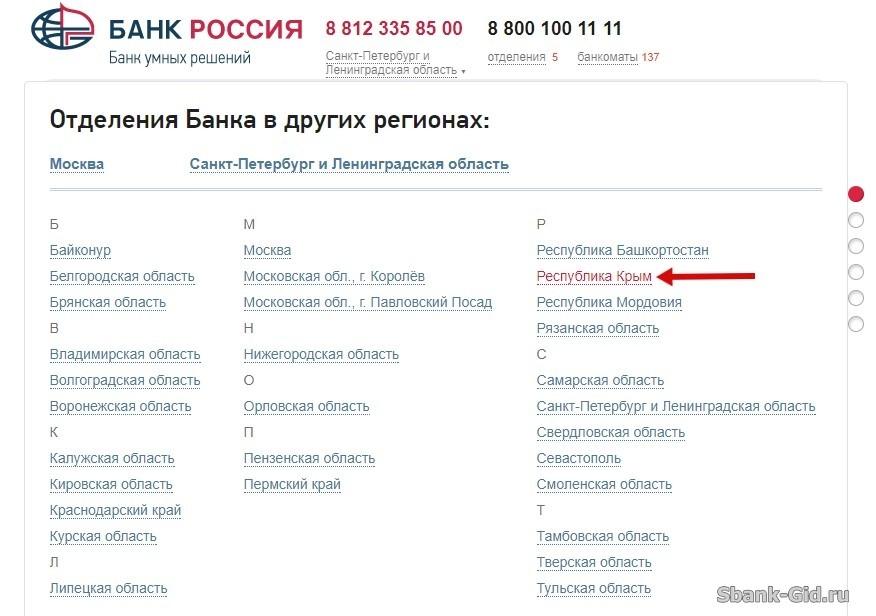 Особенности снятия денег с карты Сбербанка в Крыму