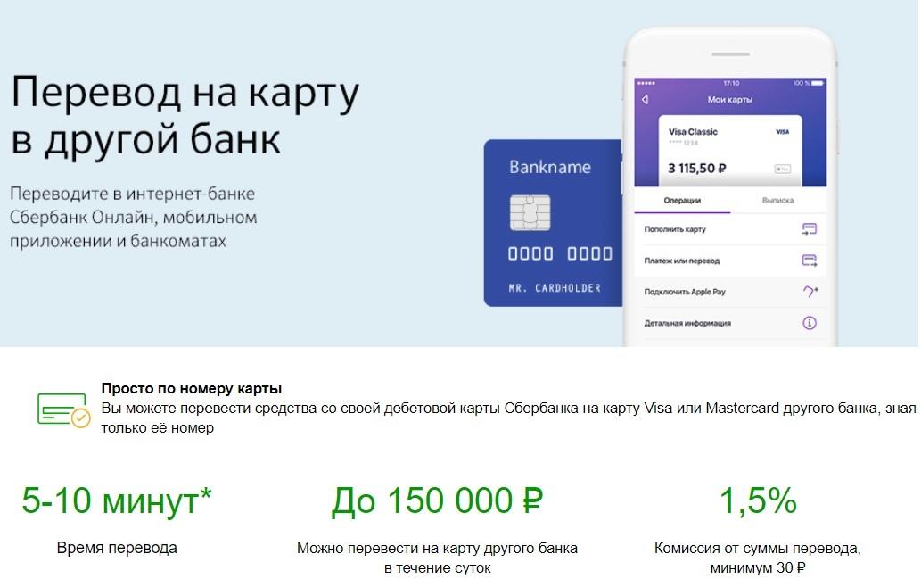 как перевести деньги с карты сбербанка на карту втб 24 без комиссии онлайн